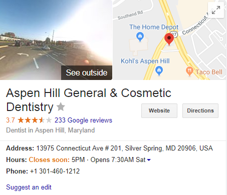 Aspen Hill General Cosmetic Dentistry Success Results Using