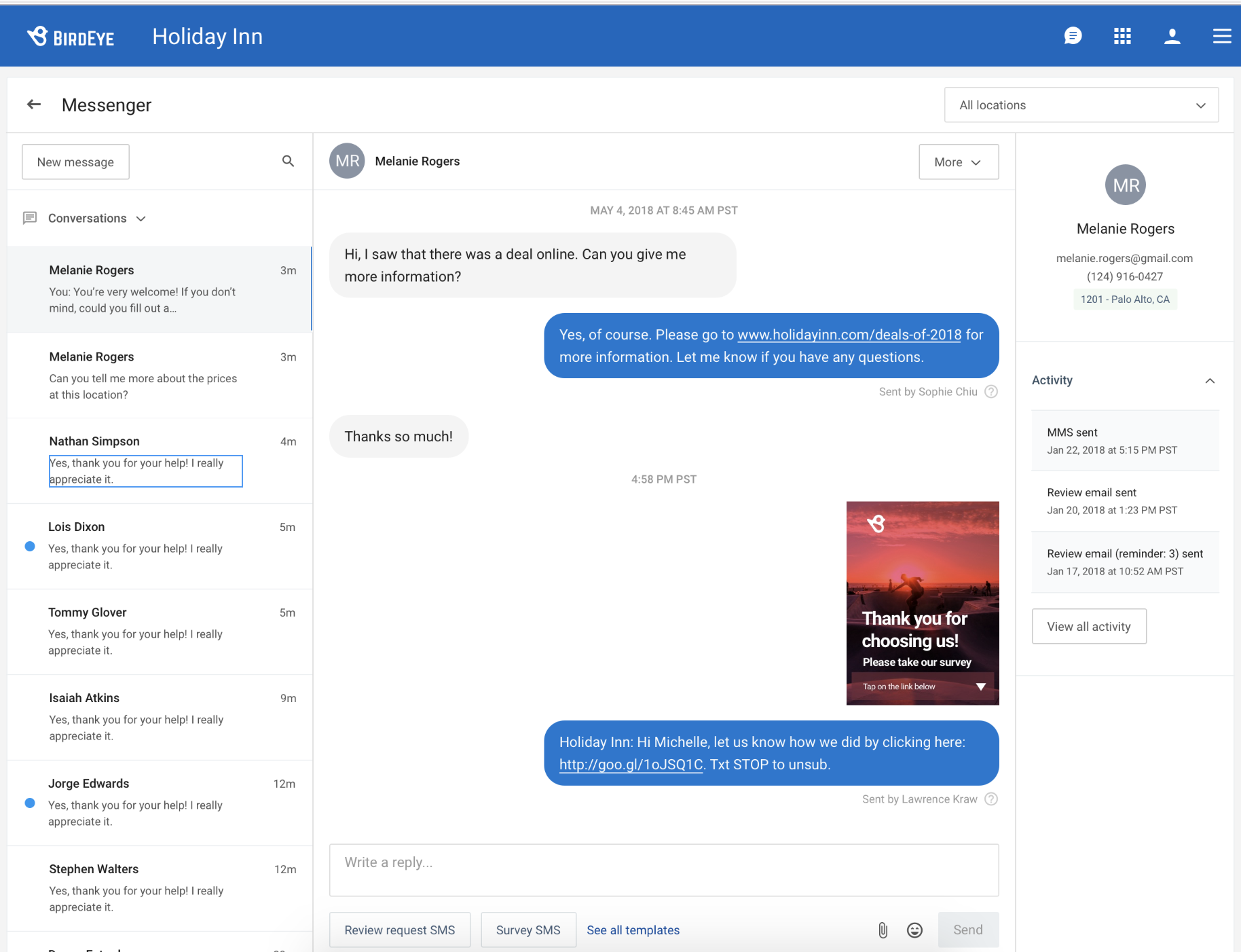 Birdeye launches Webchat and Messenger to help businesses get more customers