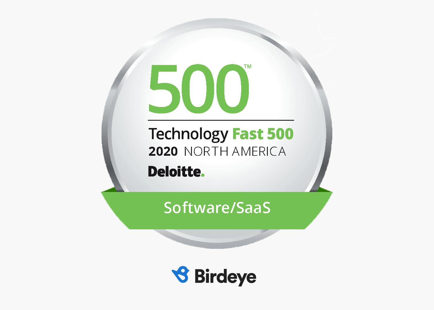 Birdeye Named To Deloitte S 2020 Technology Fast 500 1606782829264