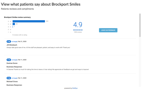 Brockport Smiles Reviews 1583308108750