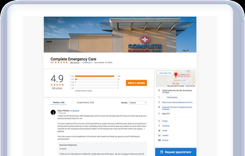Complete Care Profile 1564574851359