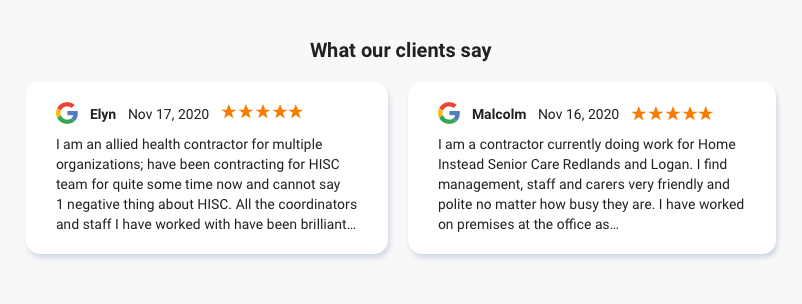 Customer Review Testimonials 1613467394287