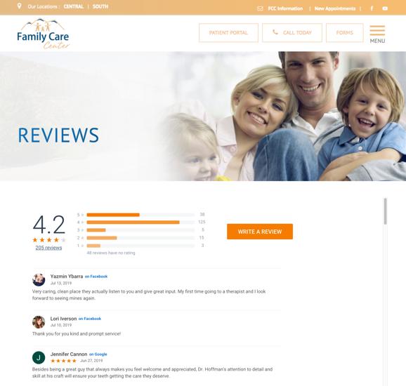 Family Care Center Website 1563515362576