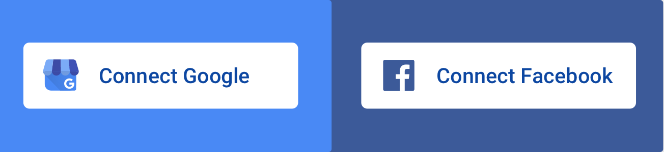 Integration call-outs introduced for Facebook and GMB pages