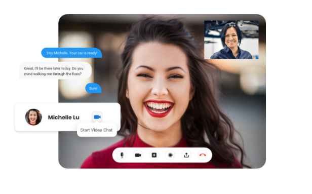 Now, meet face-to-face with your customers with Birdeye Video Chat