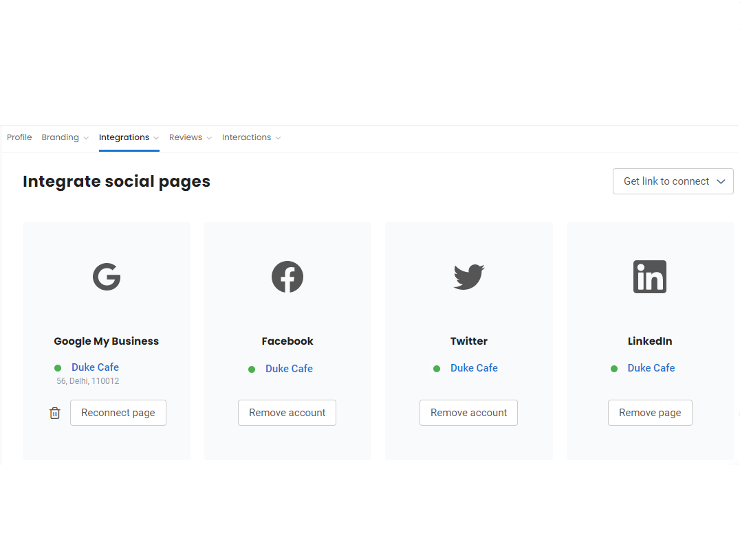 Now, share reviews from 150+ sources to LinkedIn
