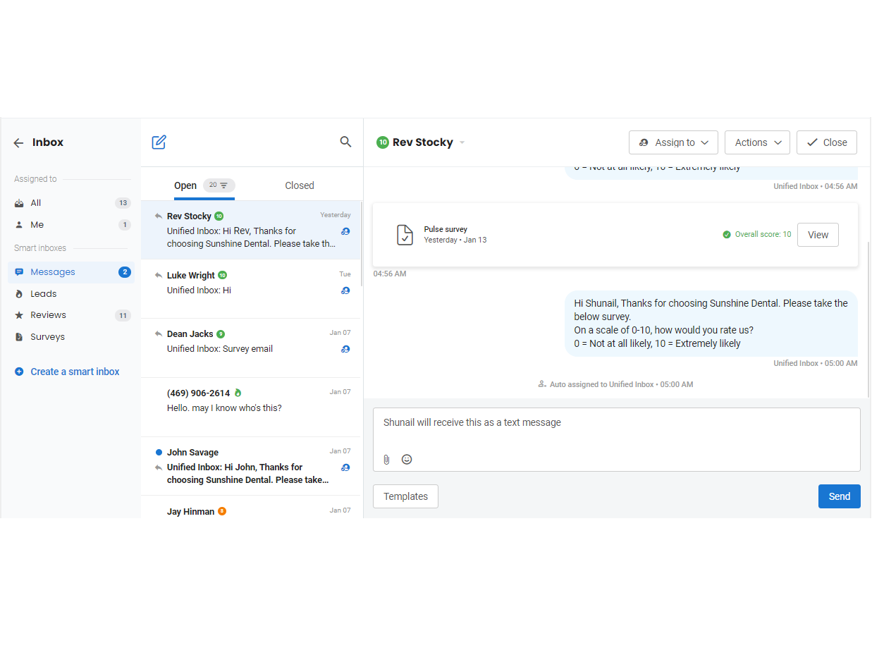 Now, track all customer interactions in one place with 'Unified Inbox'
