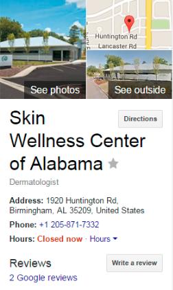 Skin Wellness Center Of Alabama 144433600235323 Before 1546856841769